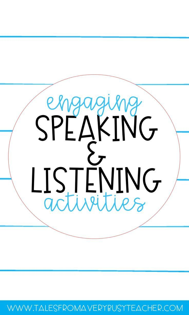 Read about different Common Core aligned Speaking and Listening activities that will engage your elementary school students everyday.