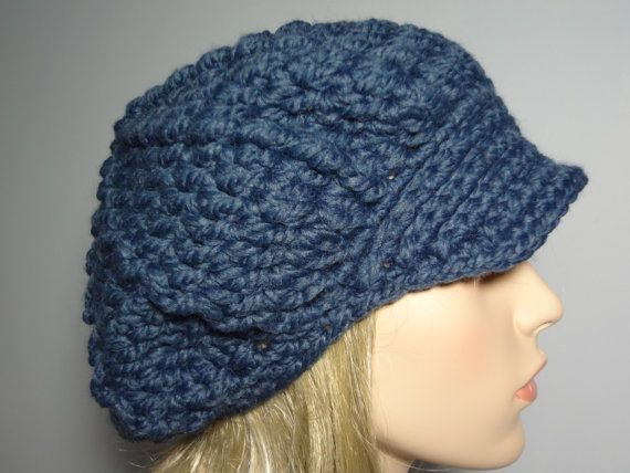Denim Teens and Adult Wool Blend Super Soft and by yarnnscents, $15.00