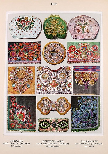 Book Ornament, two thousand decorative motifs in colour, forming a survey of the applied art of all ages and all countries ,1924   Helmuth Theodor Bossert