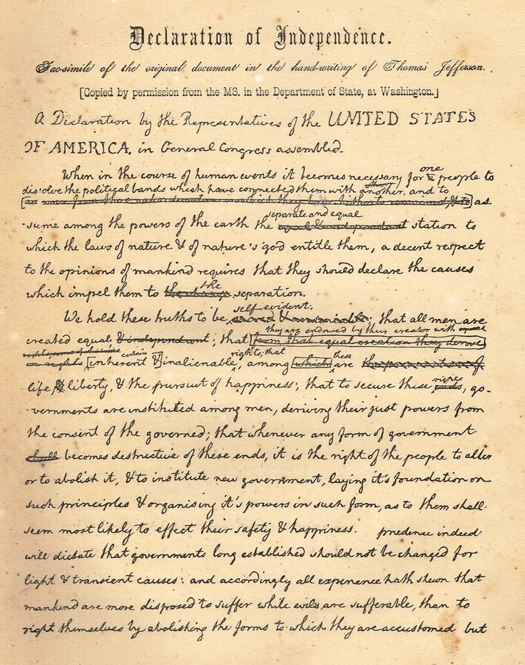 the united states declaration of independence United states declaration of independence with related historic events, famous  people and historical context.