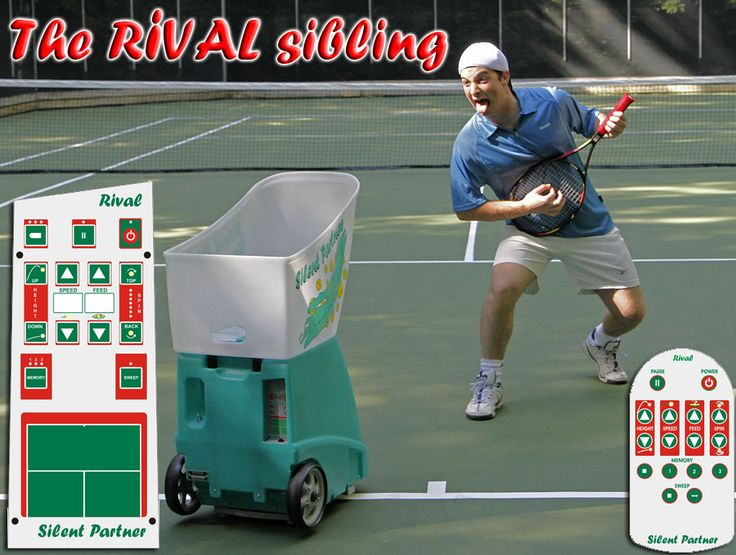 The RIVAL has a 16-button remote control, an upgrade from the 2 button remote with the Star. Other perks of the Rival are the battery level indicator, digital displays for speed and spin, the three memories and the electronic elevation adjustment. The Rival also holds 300 balls!