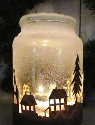 Egy kis papír és egy befőttesüveg: ilyen csodaszép árnyjáték lesz belőle…