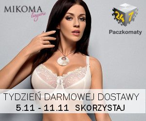 Week of free delivery - don't miss it! www.mikoma.pl