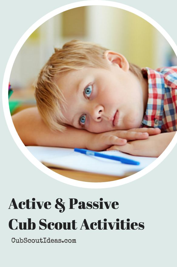 How to keep your Cub Scouts engaged during Cub Scout den and pack meetings. Strike a balance between the active and passive parts of the meeting.