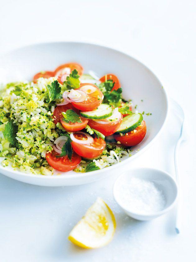 rice and broccoli tabouli