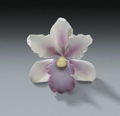 6 Tropical Orchid Gum Paste Flowers for by AllAmericanElegance, $28.97