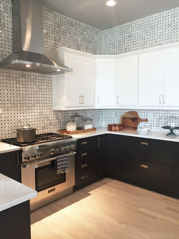 HGTV Dream House Kitchen - Black and White