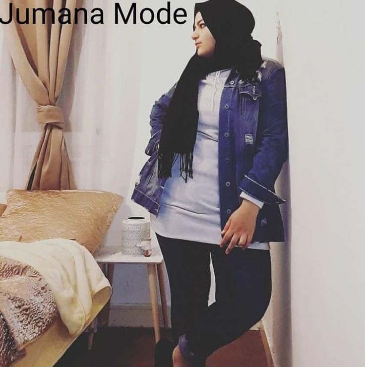 #plussize #hijabstyle #jumanamode #france