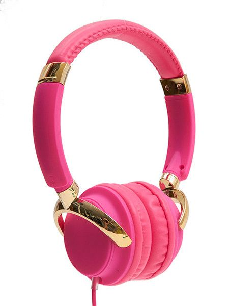 PINK HEADPHONES (5 below)