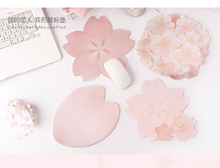 Buy cute essentials sakura mouse pad with images mouse