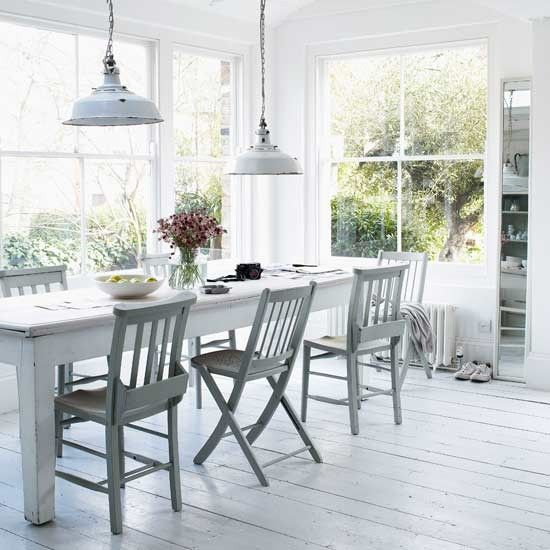 Turn your conservatory into a summery dining area