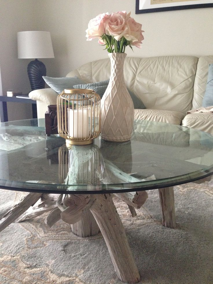 40 Best Glass Coffee Table Decorating Images On