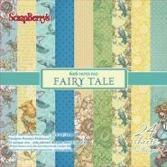 Fairy Tale Papier pakket 24 vel 15,2x15,2cm