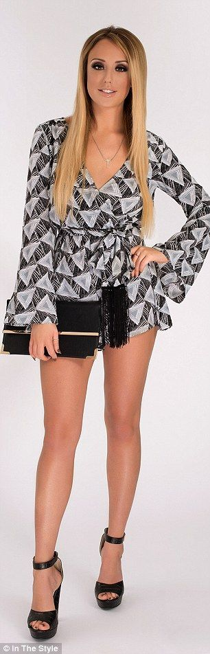 Geordie Shore's Charlotte Crosby showcases her figure in her The Style range | Daily Mail Online