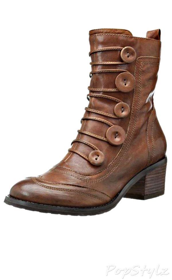 Miz Mooz Megan Leather Bootie