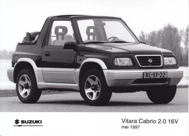 Suzuki Vitara Cabrio 2.0 16V (05/1997, Dutch)