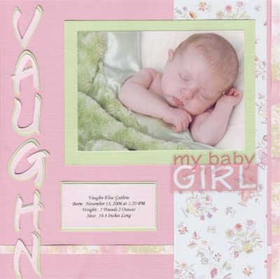 25 Unique Baby Girl Scrapbook Ideas On Pinterest Baby Scrap