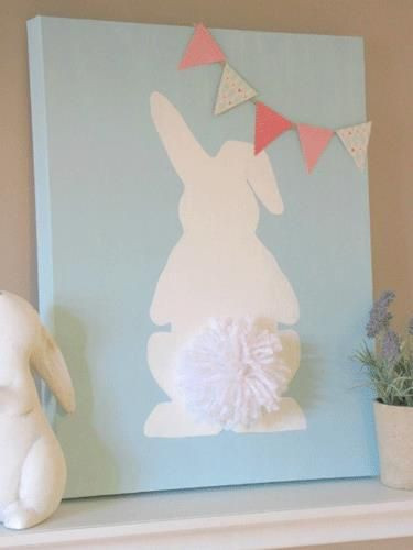 You don't need to be a master painter to pay homage to the cutest things ever—bunny tails! Get the tutorial at Clean and Scentsible.