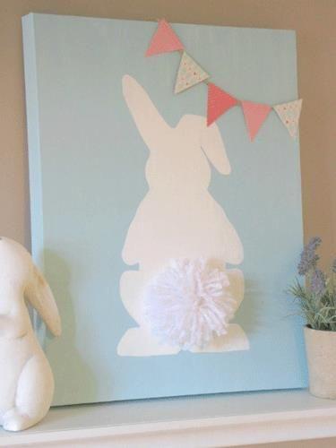 14 bricolages de Pâques faciles à réaliser pour décorer cette belle journée! - Bricolages - Des bricolages géniaux à réaliser avec vos enfants - Trucs et Bricolages - Fallait y penser !