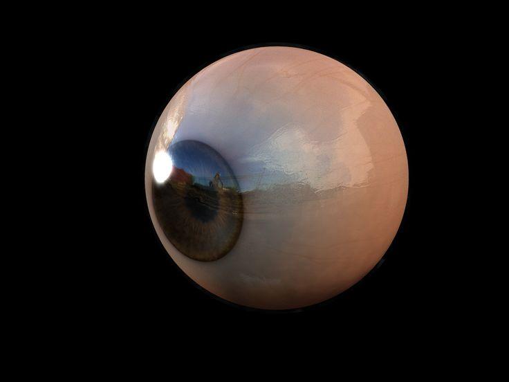 Realistic Eye Texture Human eye texture