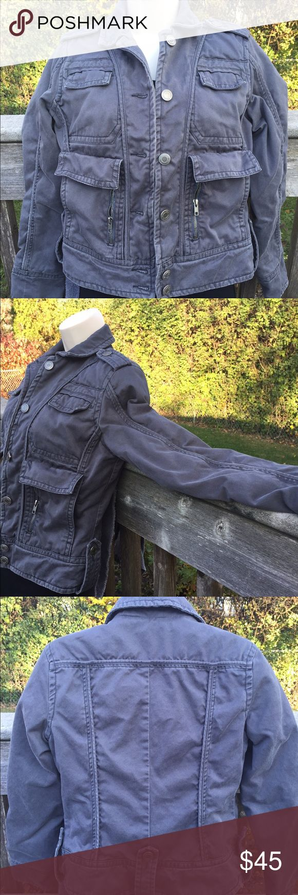 American Eagle Outfitters Jacket 100% cotton outside and 100% quilted nylon inside  measurements to come soon American Eagle Outfitters Jackets & Coats