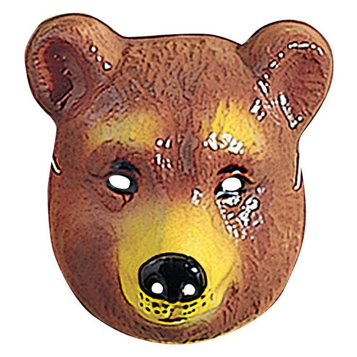 Máscara de Oso #máscaras #antifaces