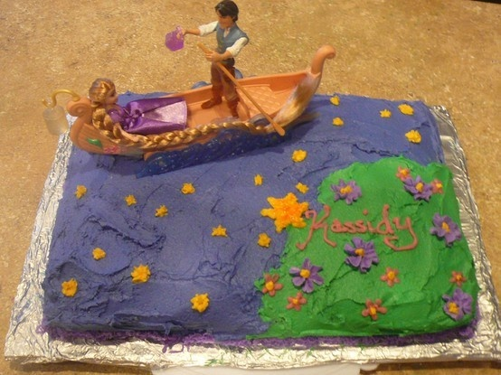 My version of a Tangled birthday cake, my daughter loved it!  the lantern scene salaguna6Tangled Birthday, Birthday Examples, Birthday Parties, Lanterns Scene, Rapunzel Parties, Lanterns Cake, Parties Ideas, Tangled Parties, Birthday Cakes