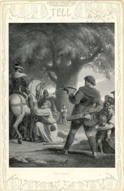 »Schiller-Motive auf Postkarten«: Wilhelm Tell - Das Goethezeitportal (1904-1906)