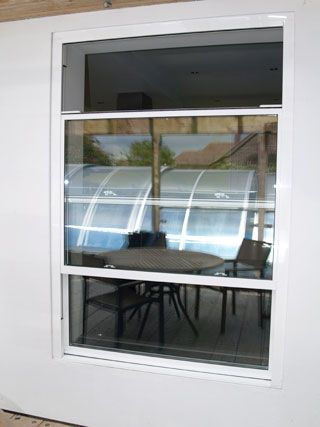 Benchmark Aluminium Sliding Sash Double Glazed Windows Provide A  Contemporary Look To Any New Build Or Commercial Property.