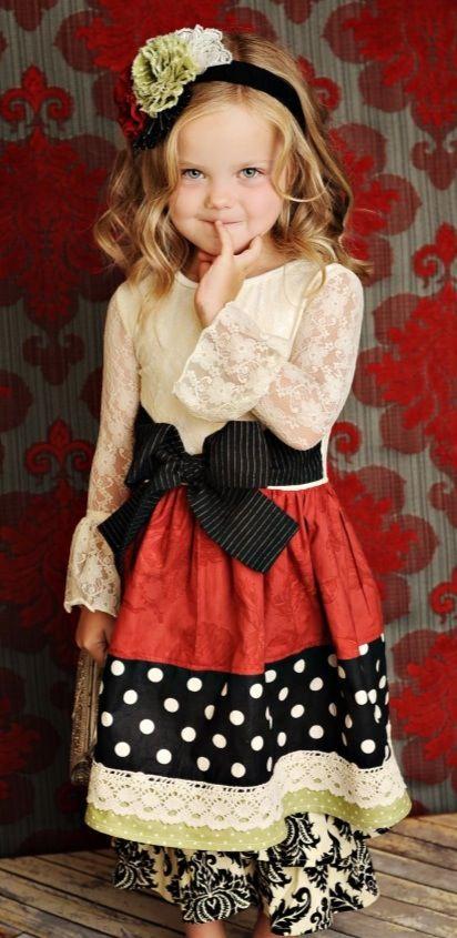 Persnickety Girls Holly Berry Weihnachten vintage Kleid Ausgezeichnete Größe 8 10
