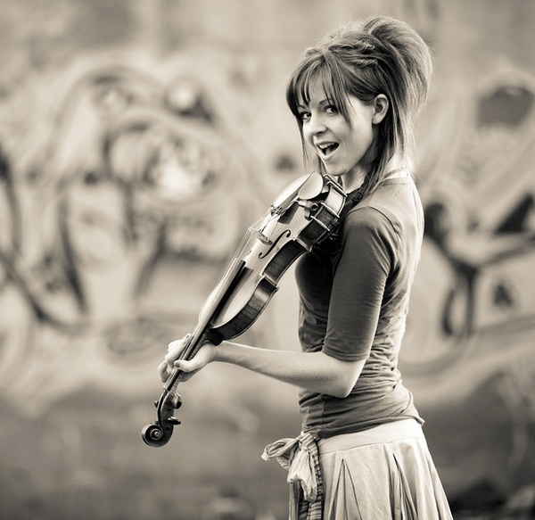 Lindsey Stirling- freaking awesome music!! People should definitely look her up!