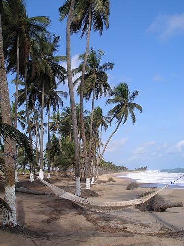 Brenu Beach, Ghana  Burası bizim Gana'da en sevdiğimiz yer! :)