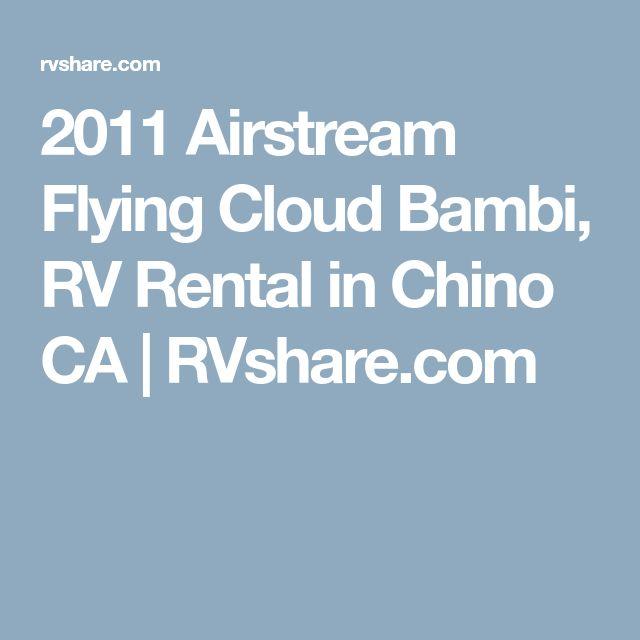 2011 Airstream Flying Cloud Bambi, RV Rental in Chino CA   RVshare.com