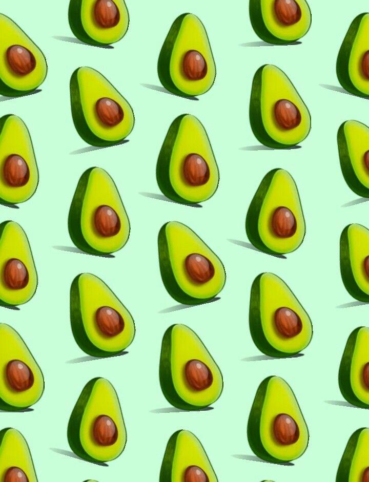 обои на телефон с принтом авокадо представляет