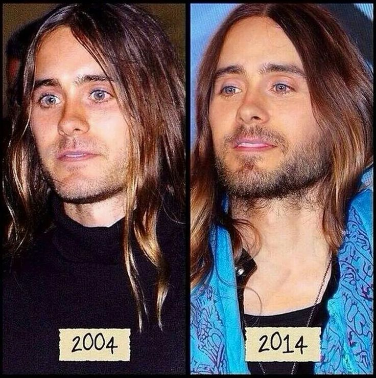 Jared Leto doesn't age!