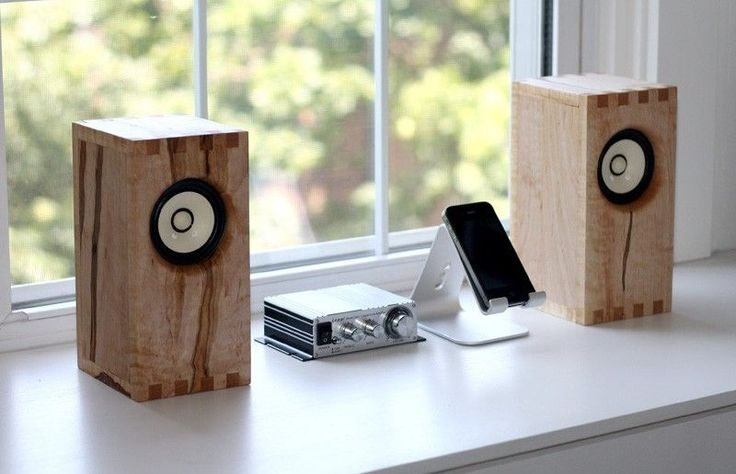 Custom Made Sparrow Bookshelf Speakers
