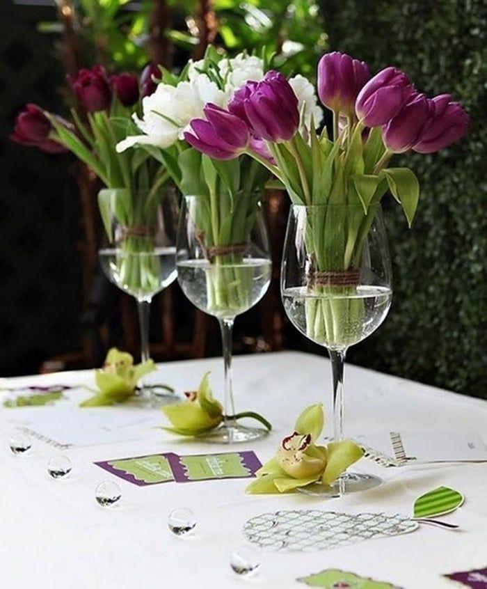 Inspirações ótimas para você sair da mesmice e fazer arranjos de mesa incríveis - seja para uma ocasião especial ou simplesmente para deixar a casa linda!
