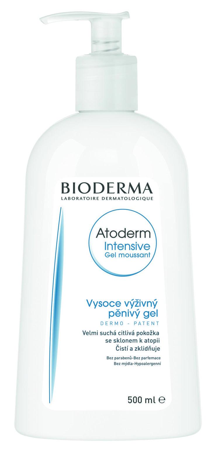Sprchový gel na zklidnění suché a atopické pokožky.
