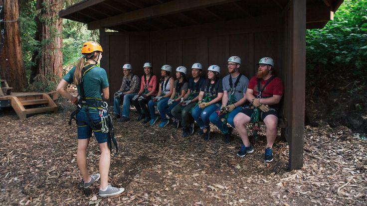 Mount Hermon » Adventures Home New » Redwood Canopy Tour
