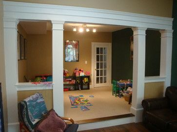 17 best images about front living room on pinterest for Pictures of columns in living room
