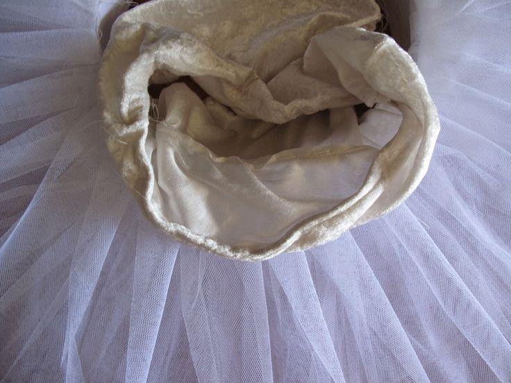 Tutorial para hacer un tutú de aro con plato para bailarina