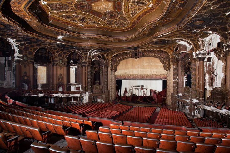 theatre abandoned - Google Search