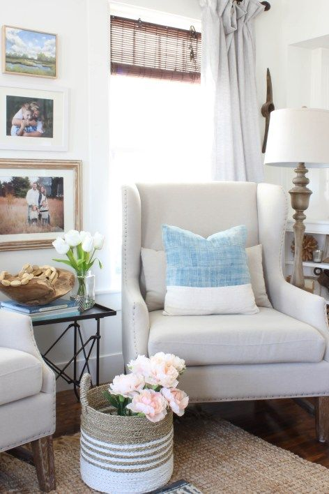 Wingback Chairs in the Living Room | Rooms FOR Rent Blog