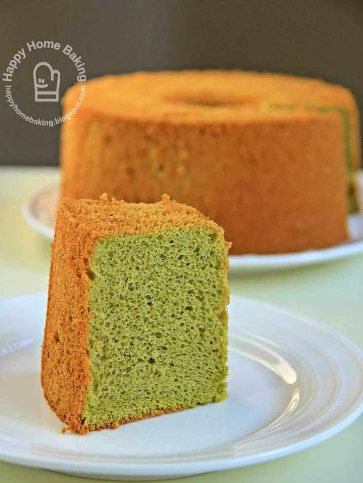 "Green Tea ""Matcha"" Chiffon Cake recipe"
