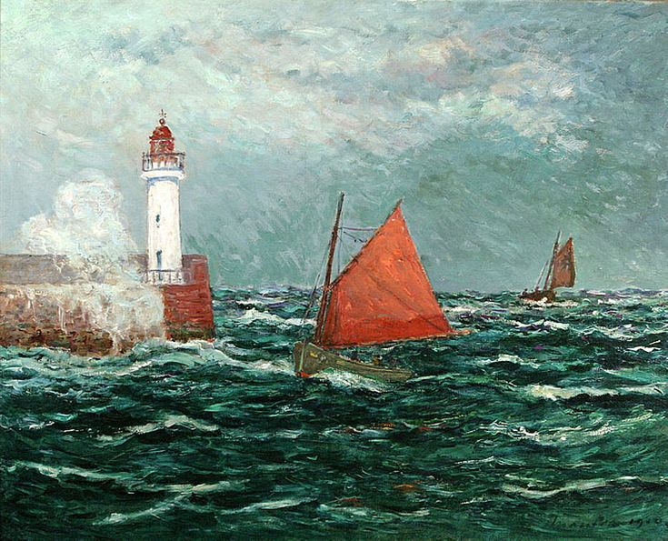 Back to Fishing boats in Belle-Isle-en-Mer - Maxime Maufra