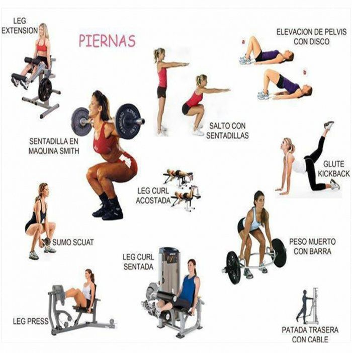 Home Gym Leg Workout: 57 Best Images About Exercise On Pinterest