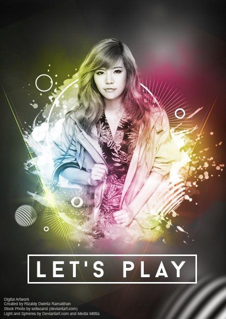 Digital Artwork - Let's Play 02 | Kreavi.com