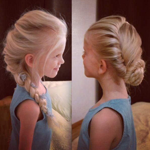 Frozen hairstyles! So adorable!