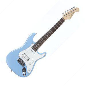 J&D ST-MINI Sky Blue Kids Electric Guitar Image