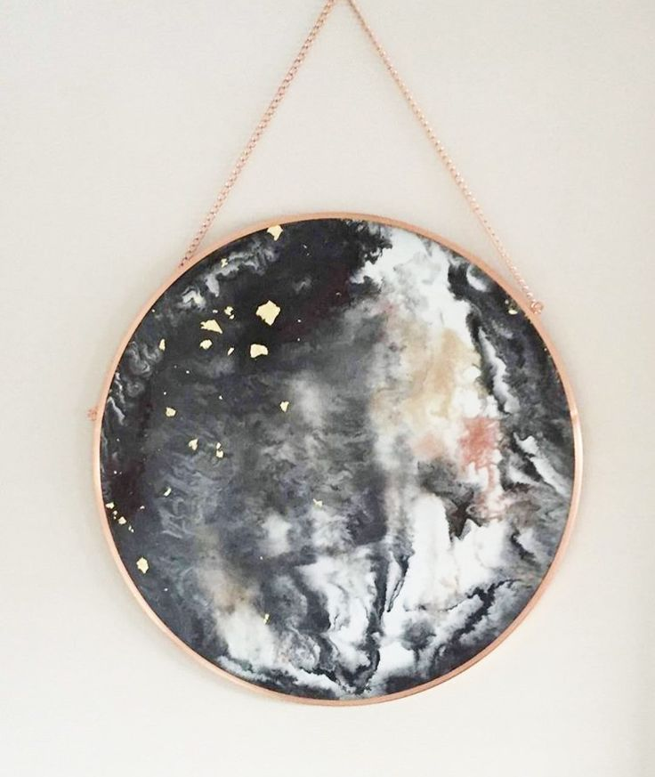 Love This Hack On The Kmart Copper Mirror 7 Chic Hacks For Your First